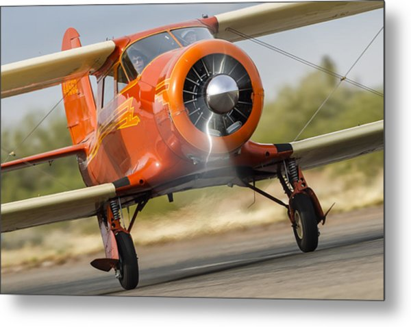 Image Of Staggerwing Proportions Metal Print