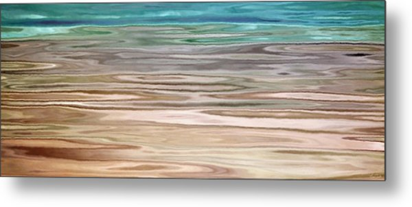 Immersed - Abstract Art Metal Print