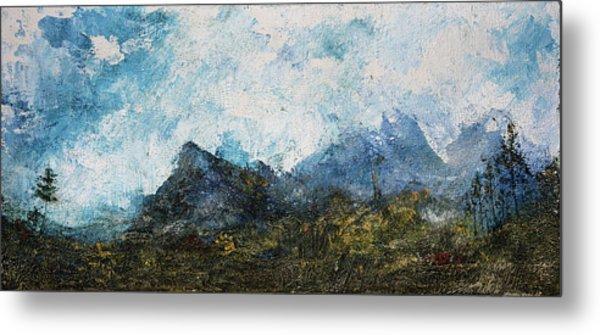 Impressionistic Landscape Metal Print