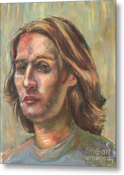 Impressionistic Portrait Metal Print