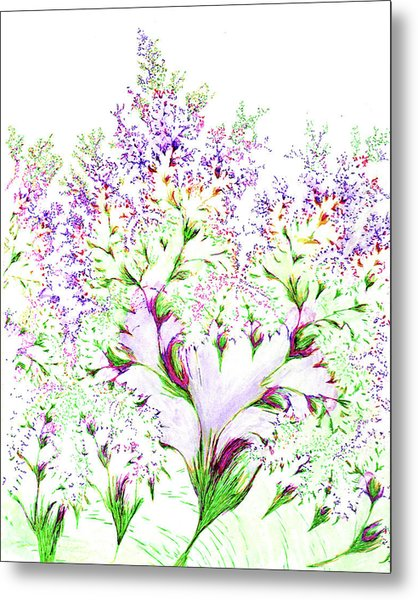 Impressions Of Spring Metal Print