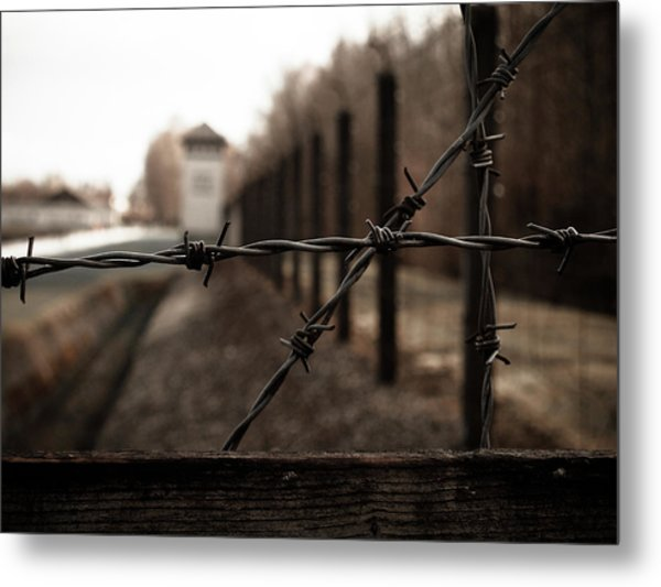 Imprisoned Metal Print