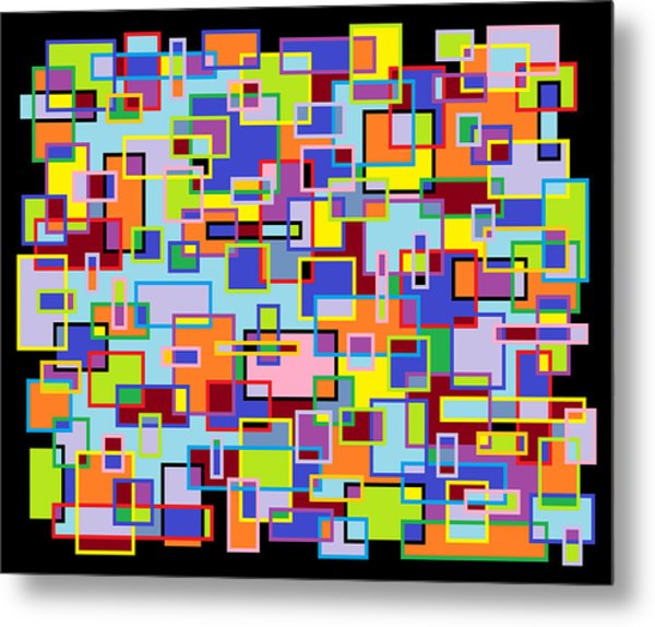 Improv 102 Metal Print by Cynthia Friedlob