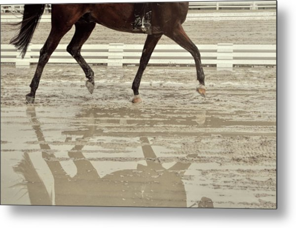 Impulsion Mirrored Metal Print by JAMART Photography
