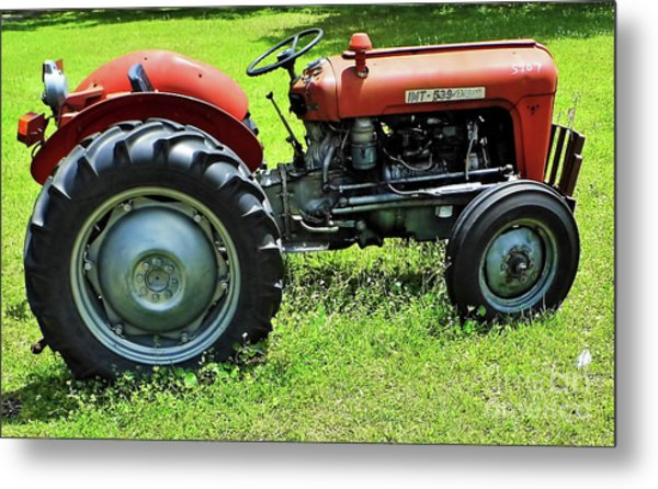 Imt 539 Tractor Metal Print