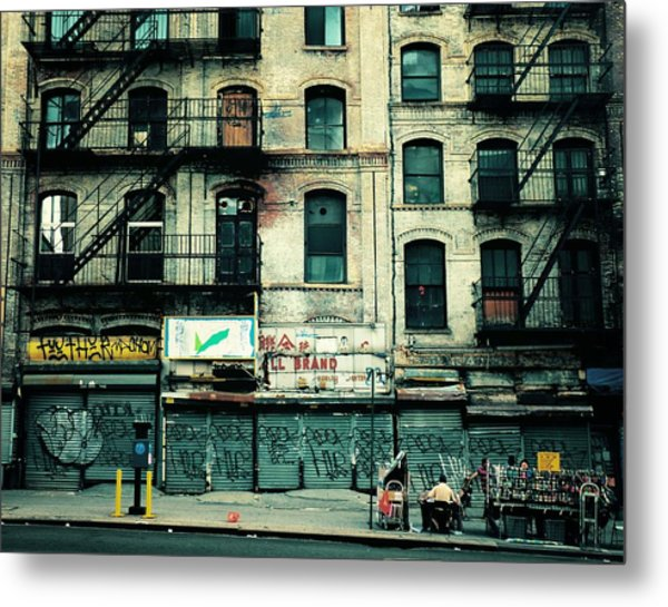In Another Time And Place Metal Print