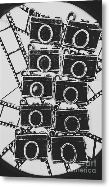 In Camera Art Metal Print