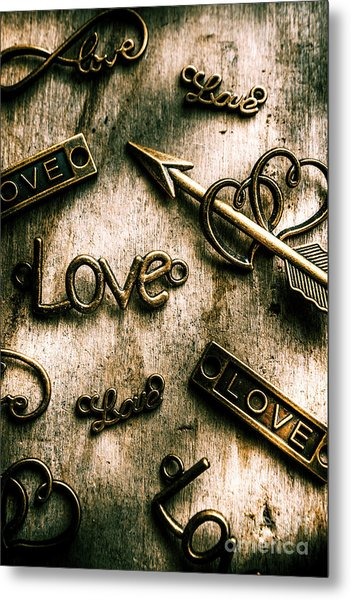In Contrast Of Love And Light Metal Print
