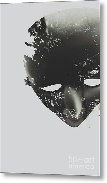 In Creation Of Thought  Metal Print
