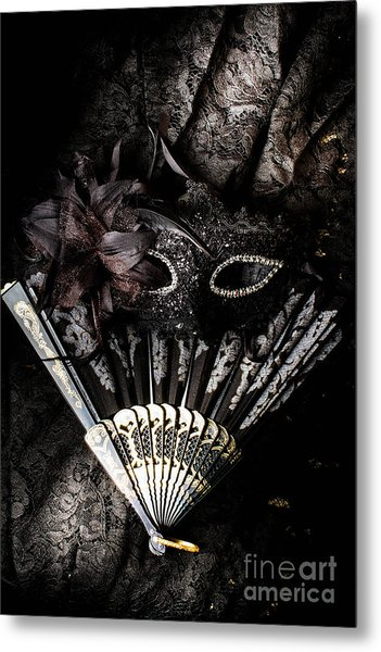 In Fashion Of Mystery And Elegance Metal Print