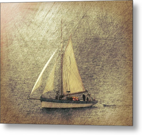In Full Sail Metal Print