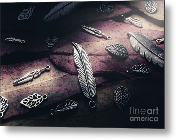 In Light Of Nature Icons Metal Print
