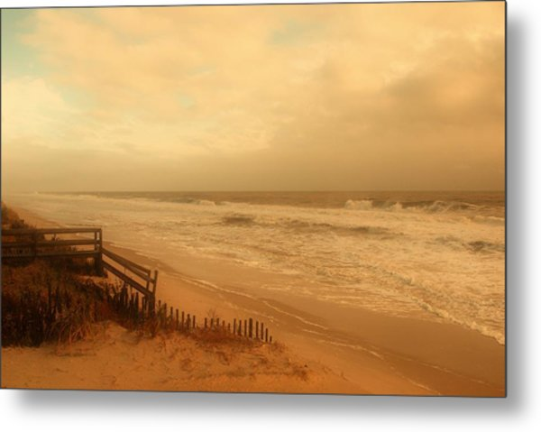 In My Dreams The Ocean Sings - Jersey Shore Metal Print