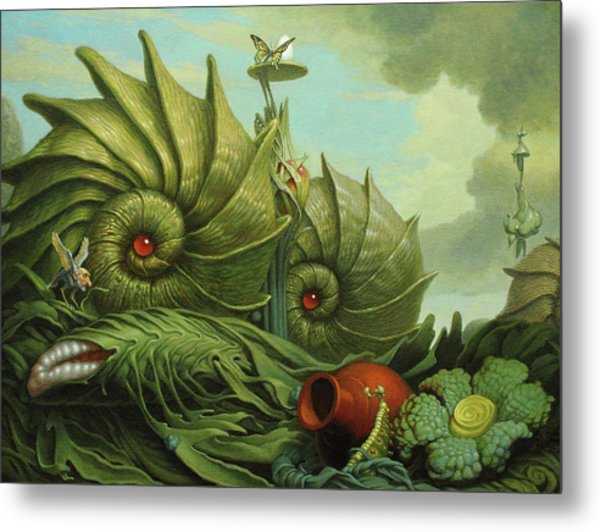 In My Garden Metal Print by Jim Thiesen