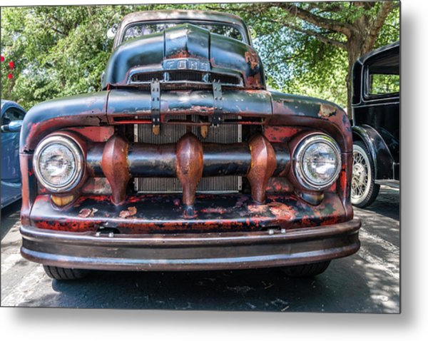 Metal Print featuring the photograph In My Grill by Michael Sussman