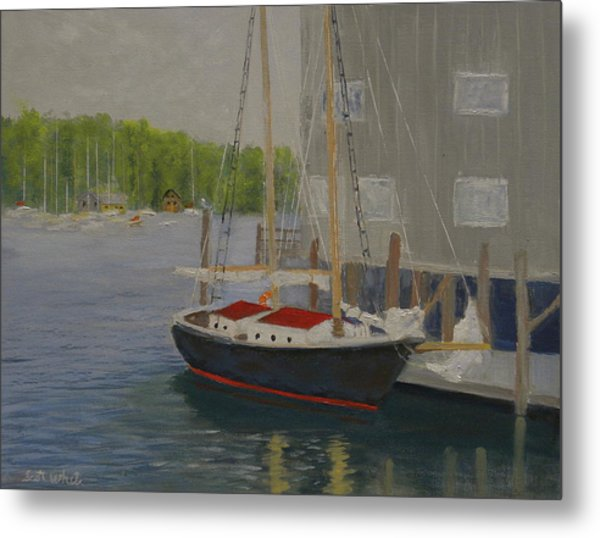 In Port Metal Print