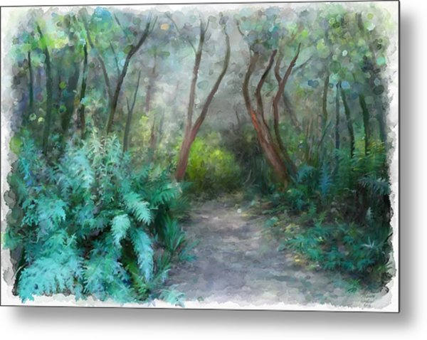 In The Bush Metal Print