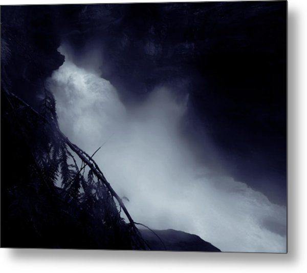 In The Canyon Metal Print by Scott Ballingall