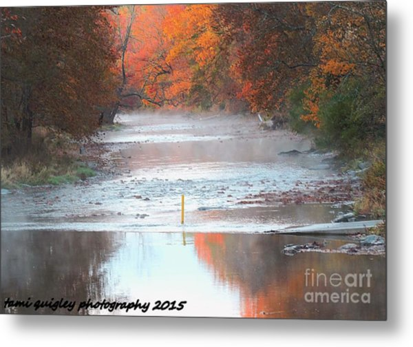 In The Early Morning Mist Metal Print