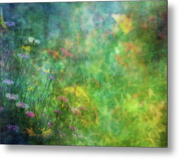 In The Garden 2296 Idp_2 Metal Print