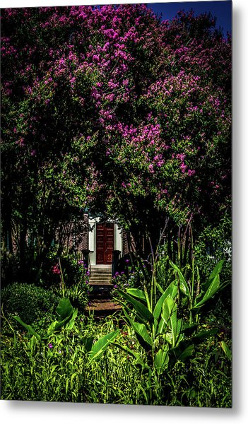 Metal Print featuring the photograph In The Garden - The Hermitage by James L Bartlett