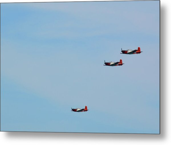 In The Loop Metal Print by JAMART Photography