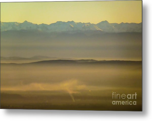 In The Mist 5 Metal Print