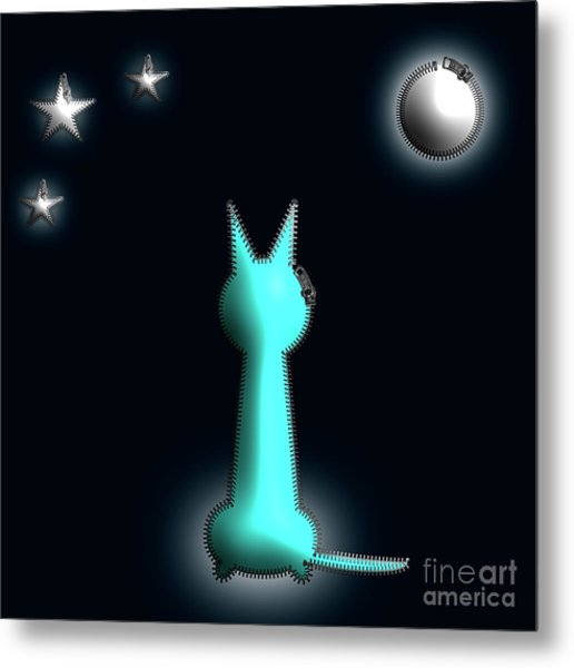 In The Moonlight Metal Print