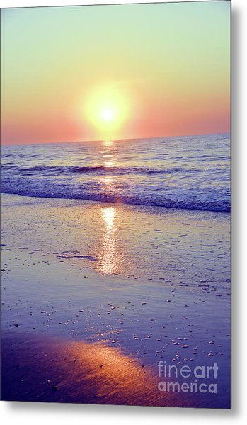 In The Morning Light Everything Is Alright Metal Print