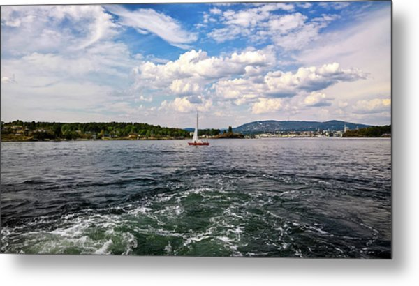 In The Oslo Fjord Metal Print