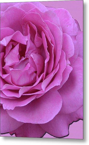 In The Pink Metal Print by Larry Bishop