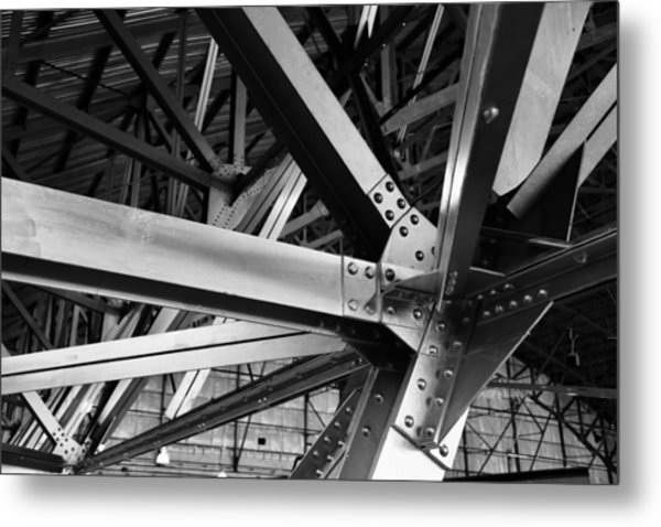 In The Rafters Metal Print