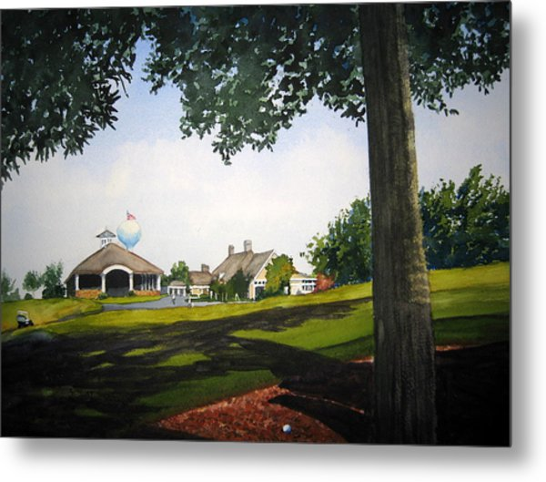 In The Rough Metal Print by Shirley Braithwaite Hunt