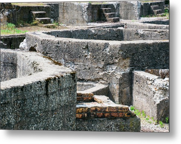 In The Ruins 6 Metal Print