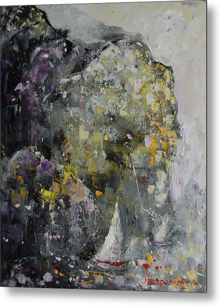 In The Shelter Of The Wind Metal Print by Sari Haapaniemi