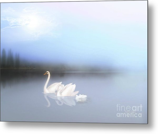 In The Still Of The Evening Metal Print