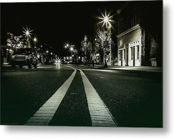 In The Streets Metal Print