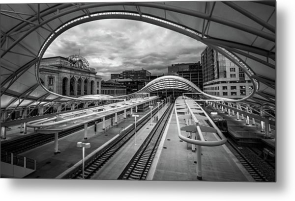 In Transit Metal Print