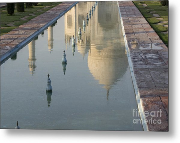 In Water Metal Print