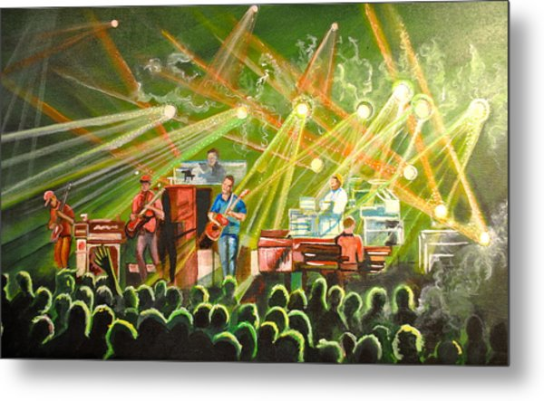 In With The Um Crowd Metal Print