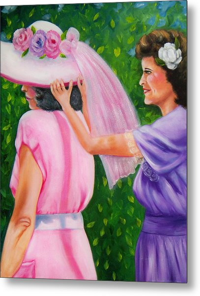 In Your Easter Bonnet Metal Print