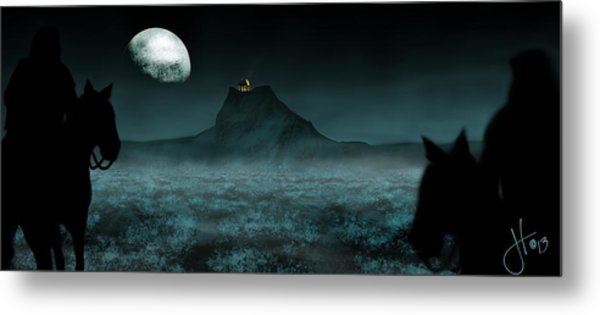 Metal Print featuring the digital art Inadvertent Hobbits by Jason Hanson