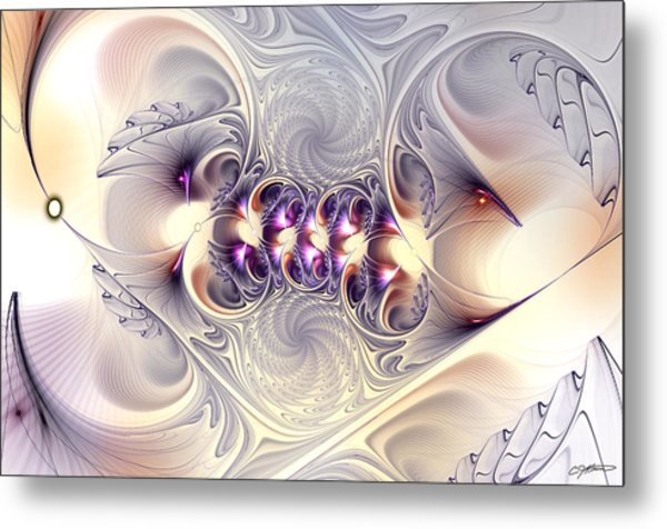 Incandescent Reminiscences Metal Print