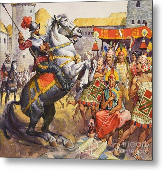 Incas Metal Print