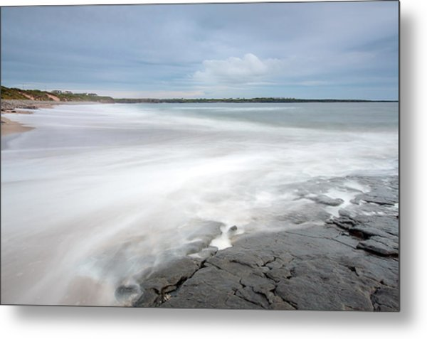 Incoming Tide Metal Print by Ann O Connell