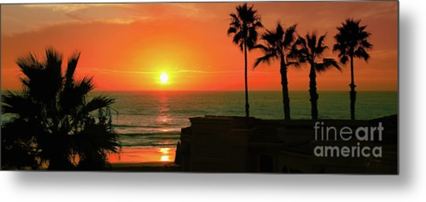 Incredible Sunset View Metal Print
