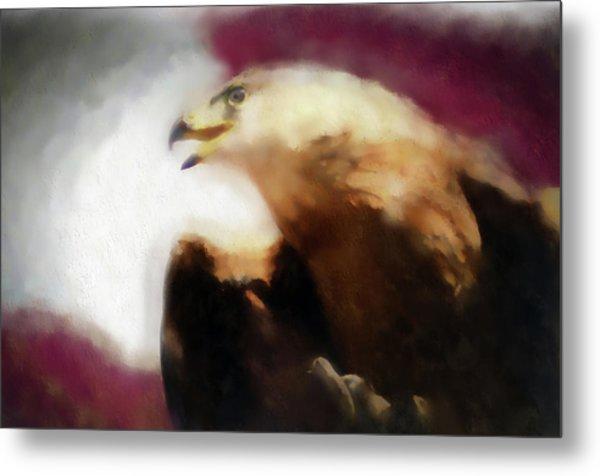 Independence Eagle Metal Print