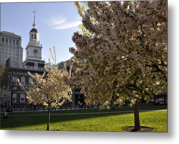 Independence Hall Metal Print