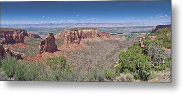Independence Pano Metal Print