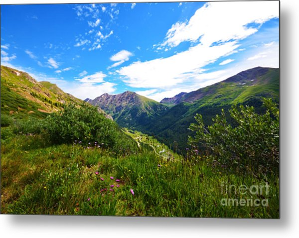 Metal Print featuring the photograph Independence Pass by Kate Avery